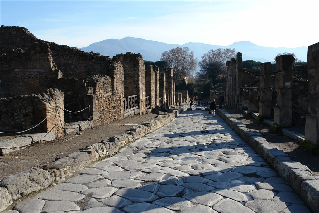 Pompeii private tour